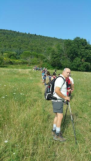 Trekking delle Ginestre-Escursione in salita
